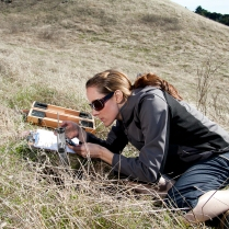 Infiltration measurements along the Russian Ridge near Stanford, CA